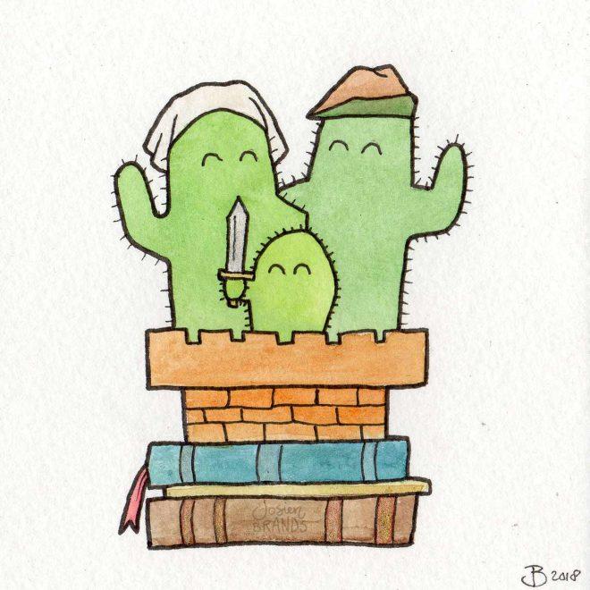 Cacti Family Middeleeuwen