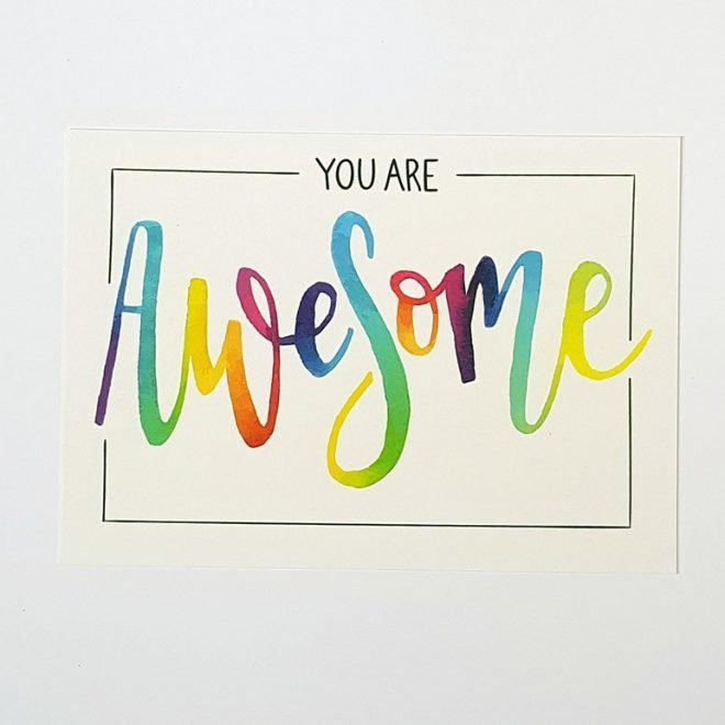You Are Awesome Kaart