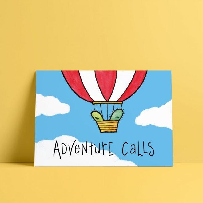 Adventure Calls Cactus kaart