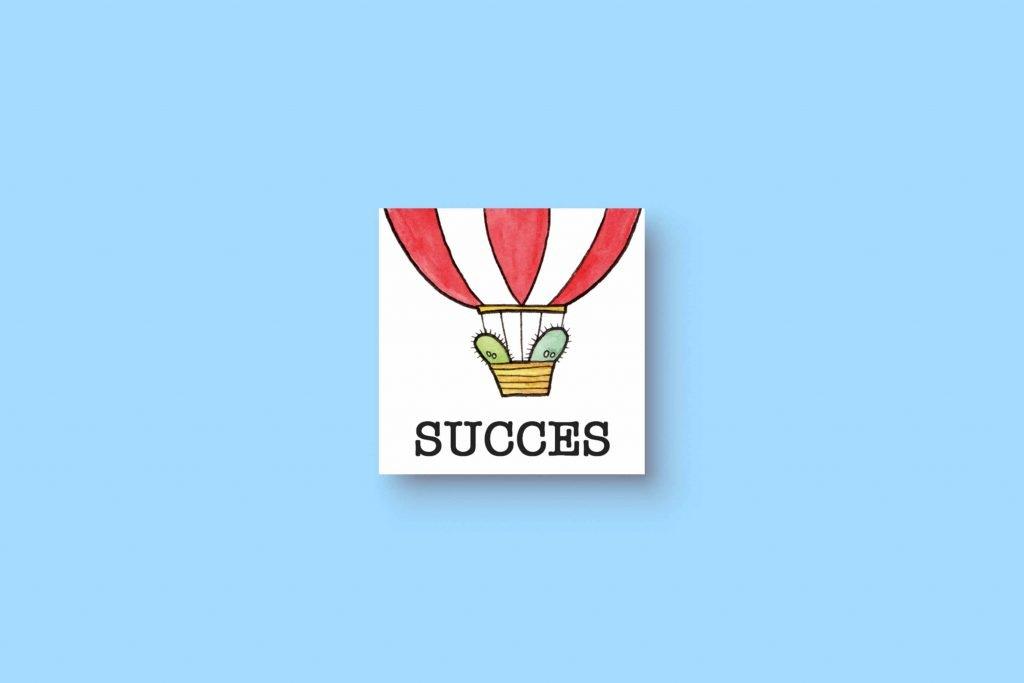 Cactus Balloon Succes 5x5
