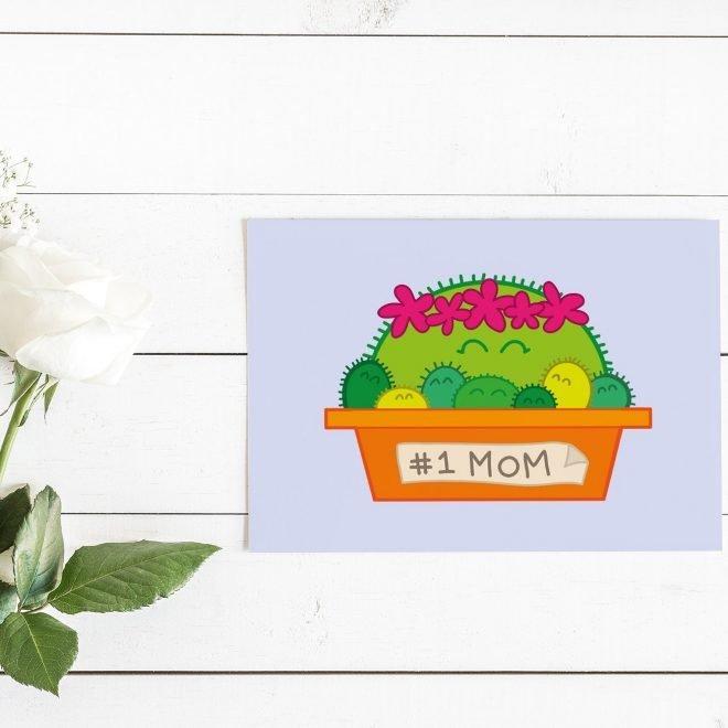 Cactus Mom kaart