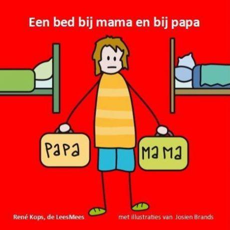 Een bed bij mama en bij papa Kopsie