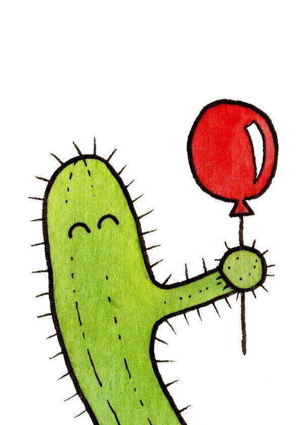 Cactus ballon A6